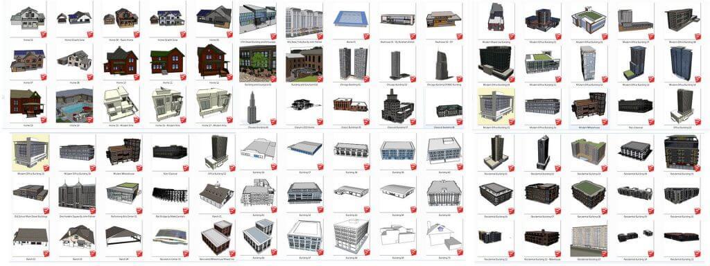 • Building Bundle – Your own building component set