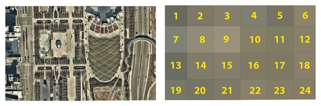 Millenium Park tile example